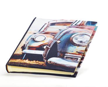 Album fotografico in tessuto