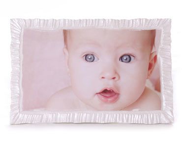 Legno Perla stampato con la foto del tuo bambino