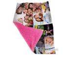 coperta collage personalizzata con diversi soggetti