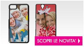 Personalizza cover per smartphone e tanti altri prodotti