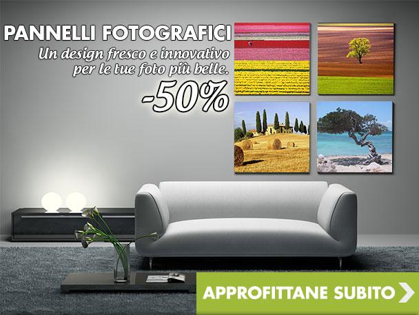 Pannelli fotografici Personalizzati